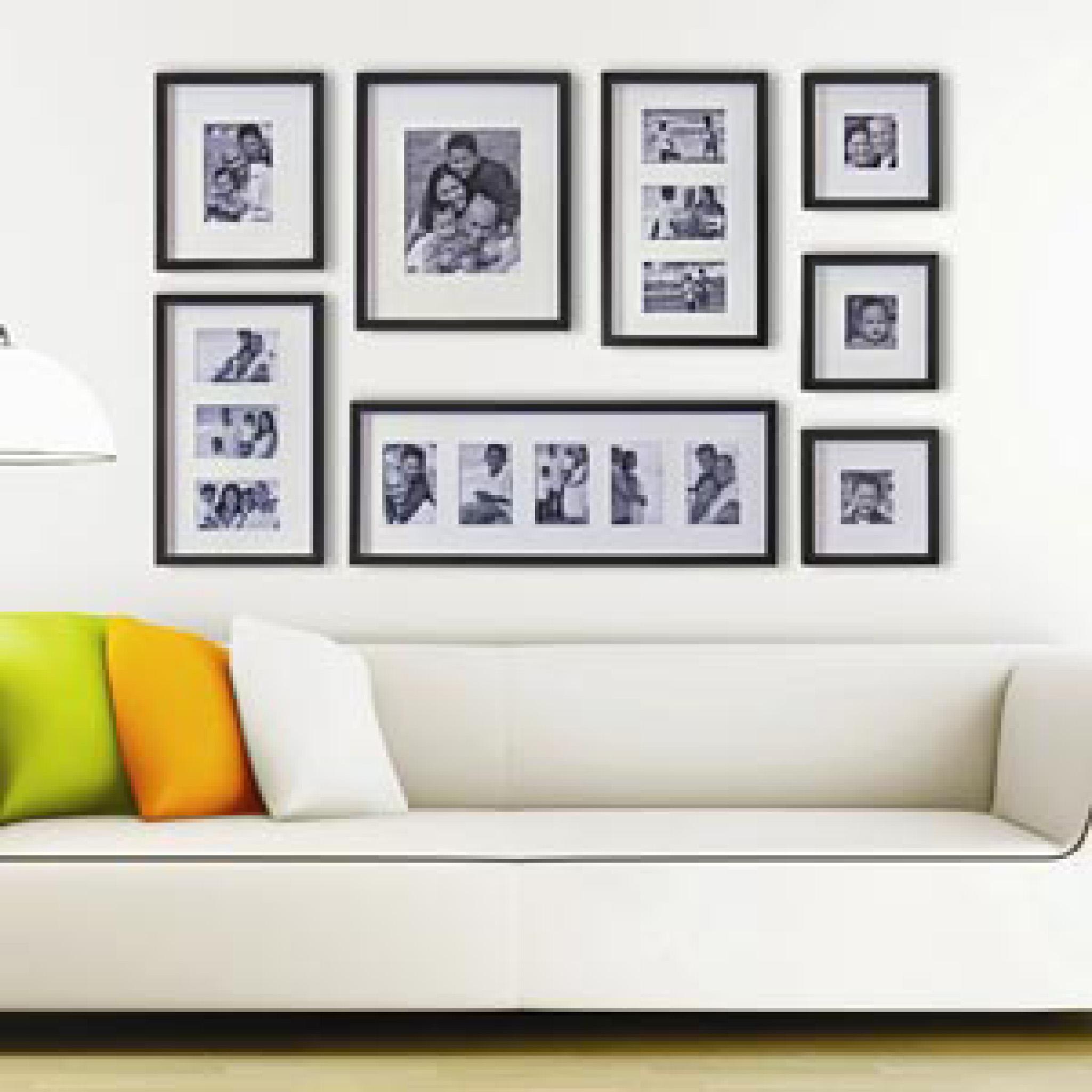 Moldura inspire seu dia for Como colocar papel mural