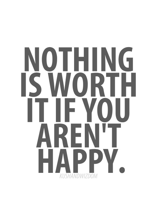 nothing is worth